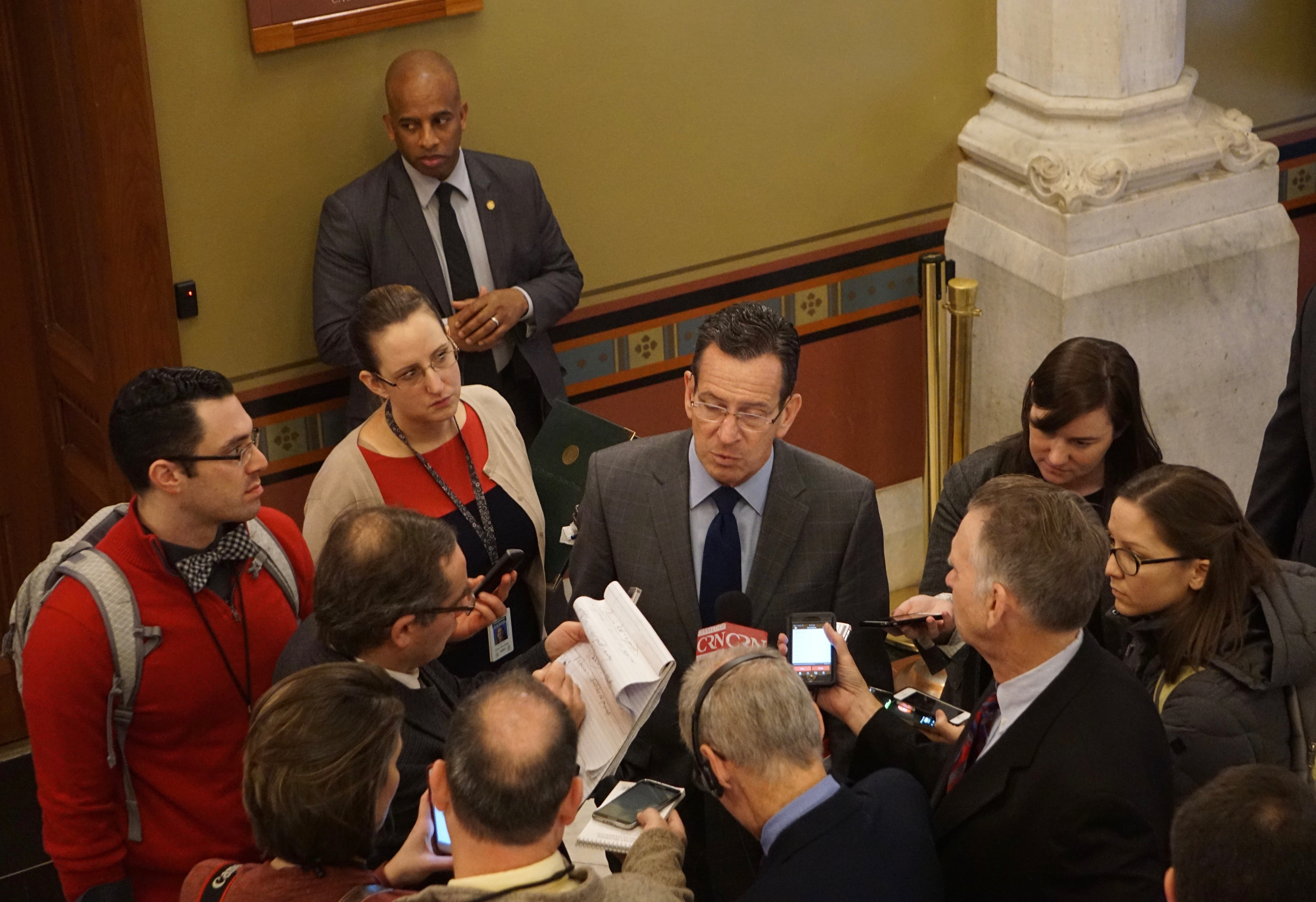 Malloy: 'A mistake' to reject DCF plan