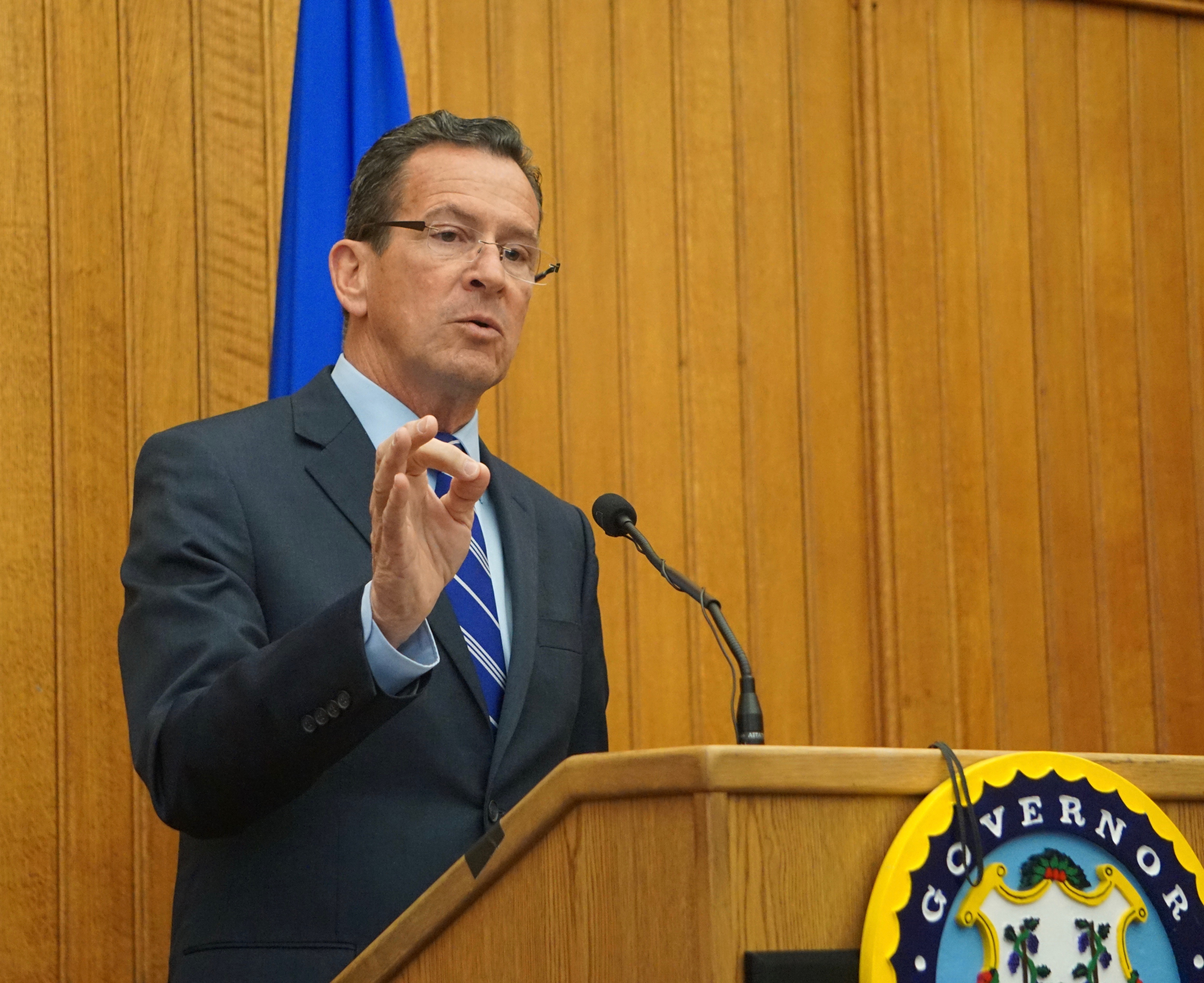 Malloy: Pension bills for CT towns part of a larger plan