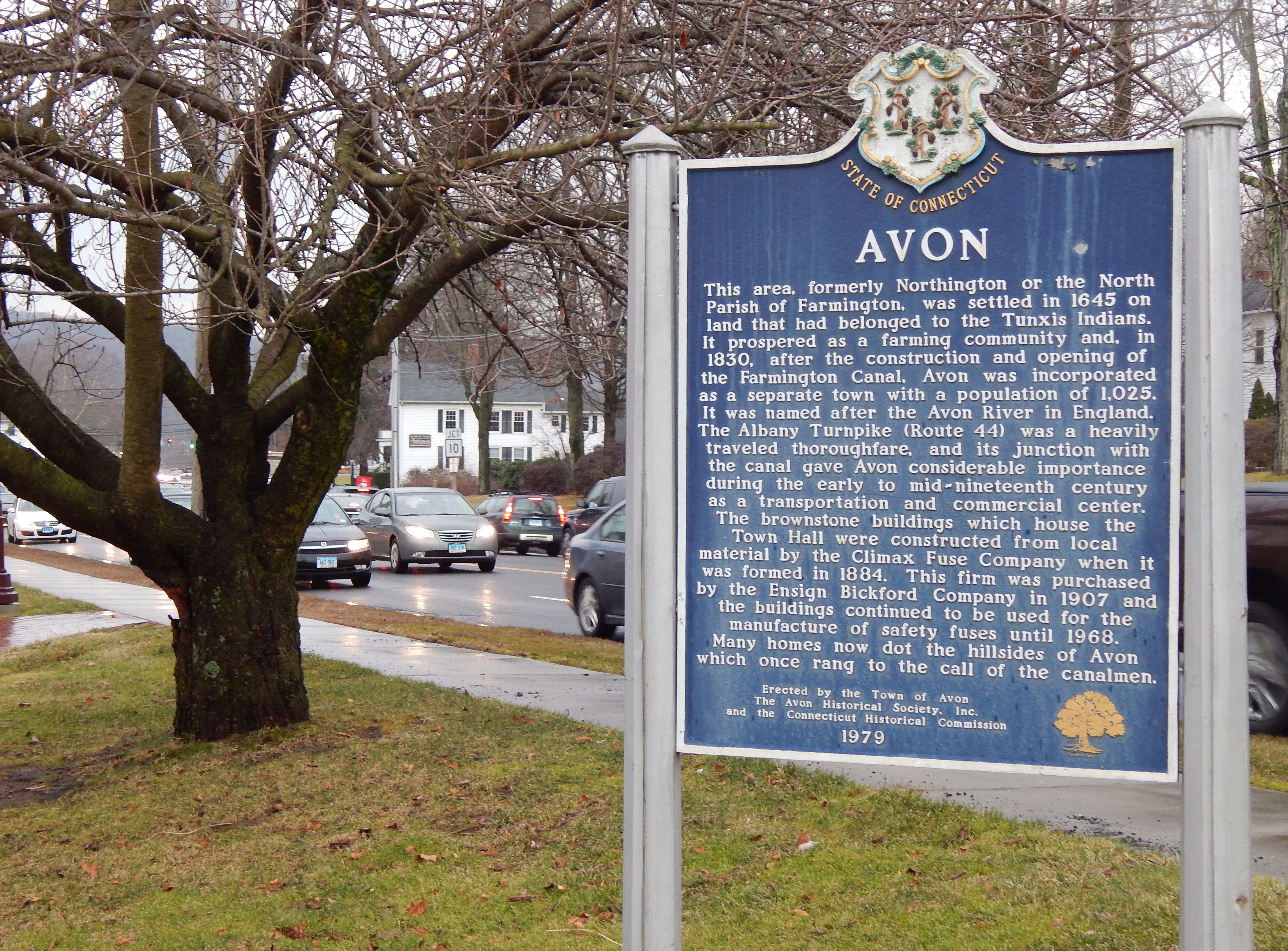 In Avon, a feeling of unease lingers as inauguration nears