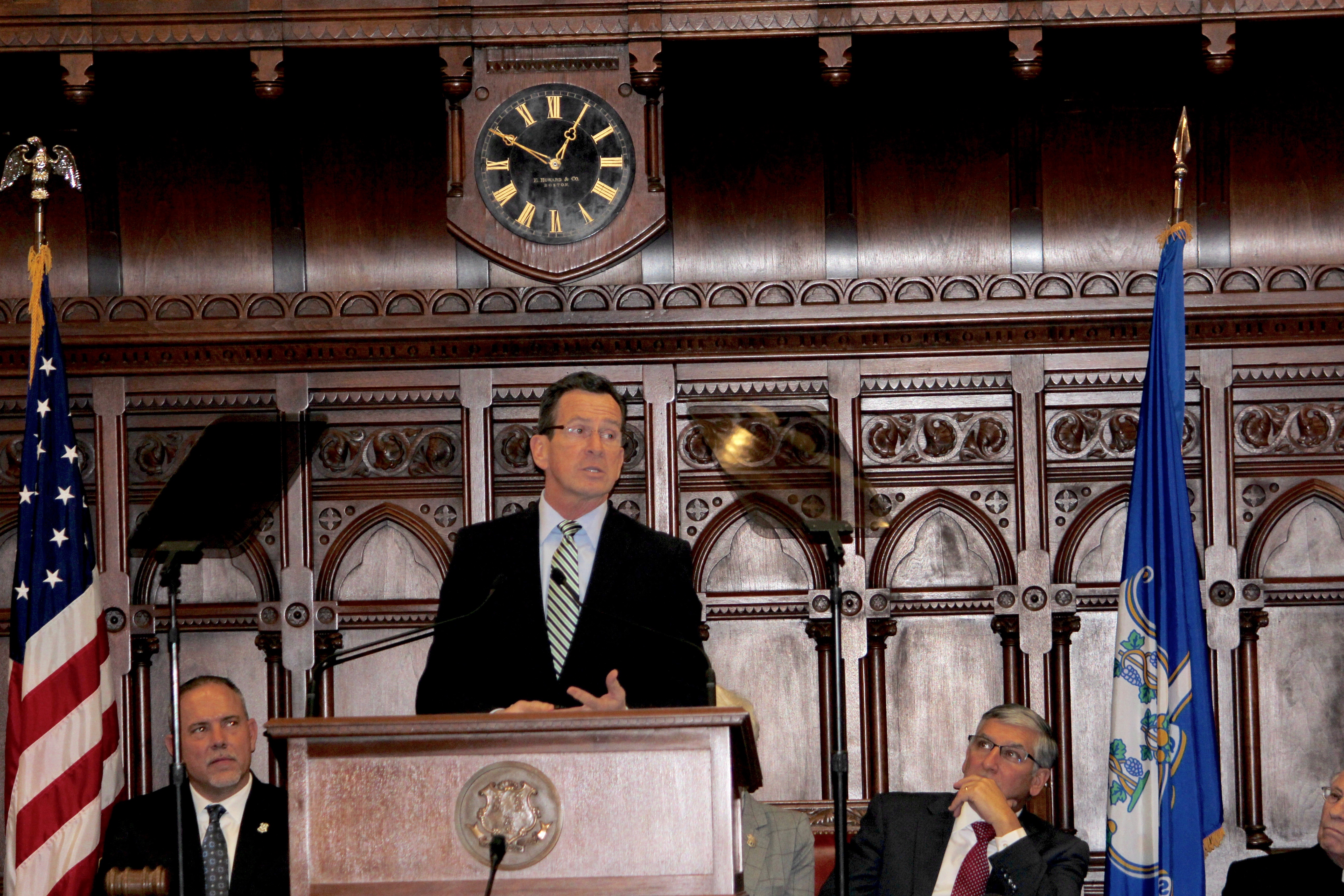 Malloy's new budget sparks big revenue debate