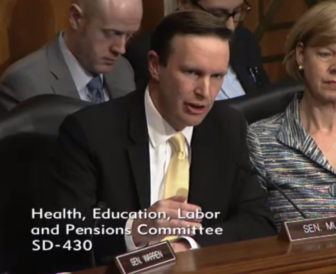 Sen. Chris Murphy questions Betsy DeVos
