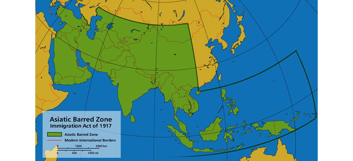 A century later, America's values are betrayed again: A new 'Asiatic Barred Zone'