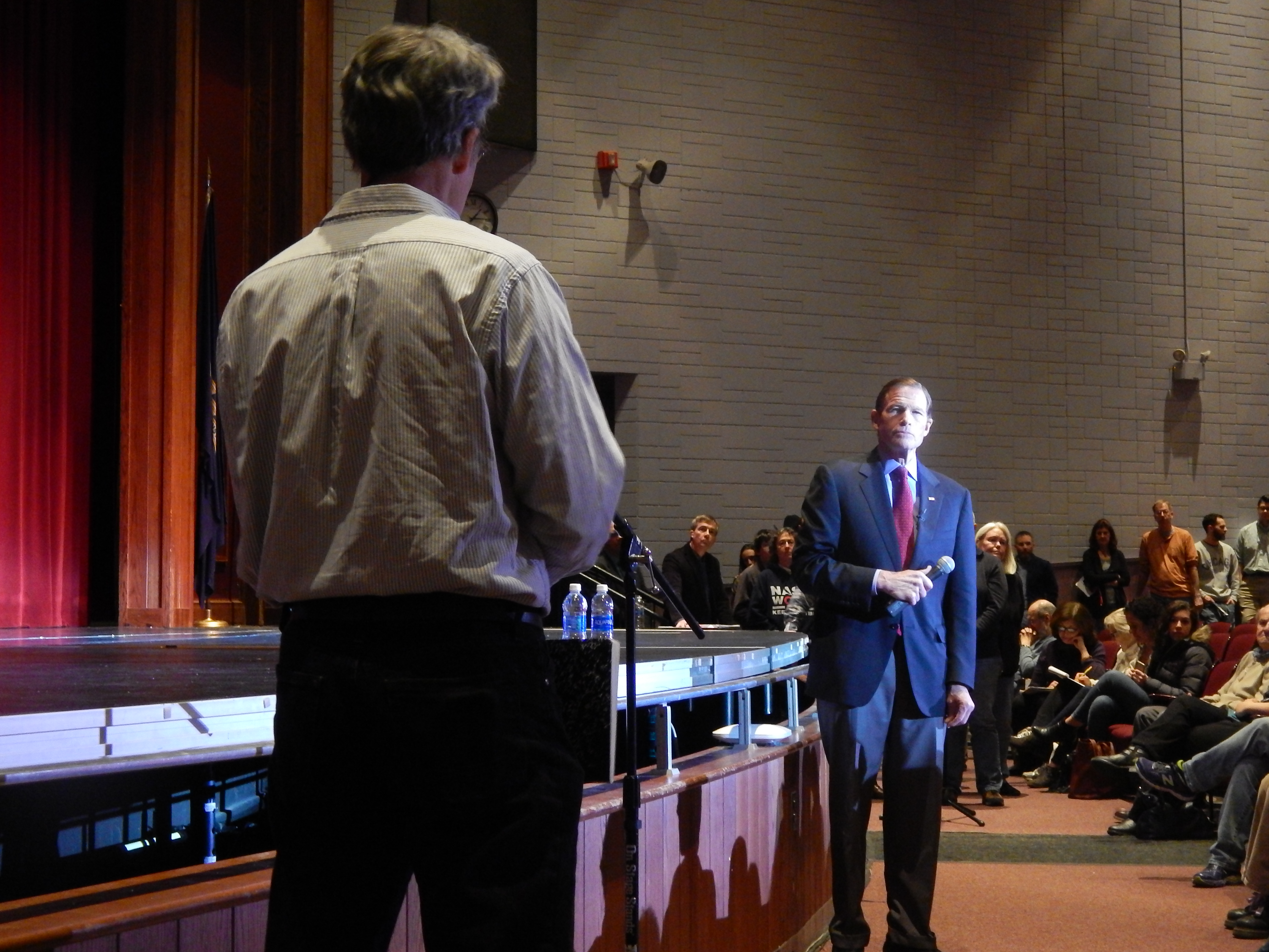 Blumenthal in New Britain: 'We are in the fight of our lives'