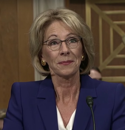 DeVos, reportedly opposed to rolling back transgender protections, defends the changes