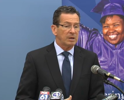 Malloy says intellectually disabled winners in new budget