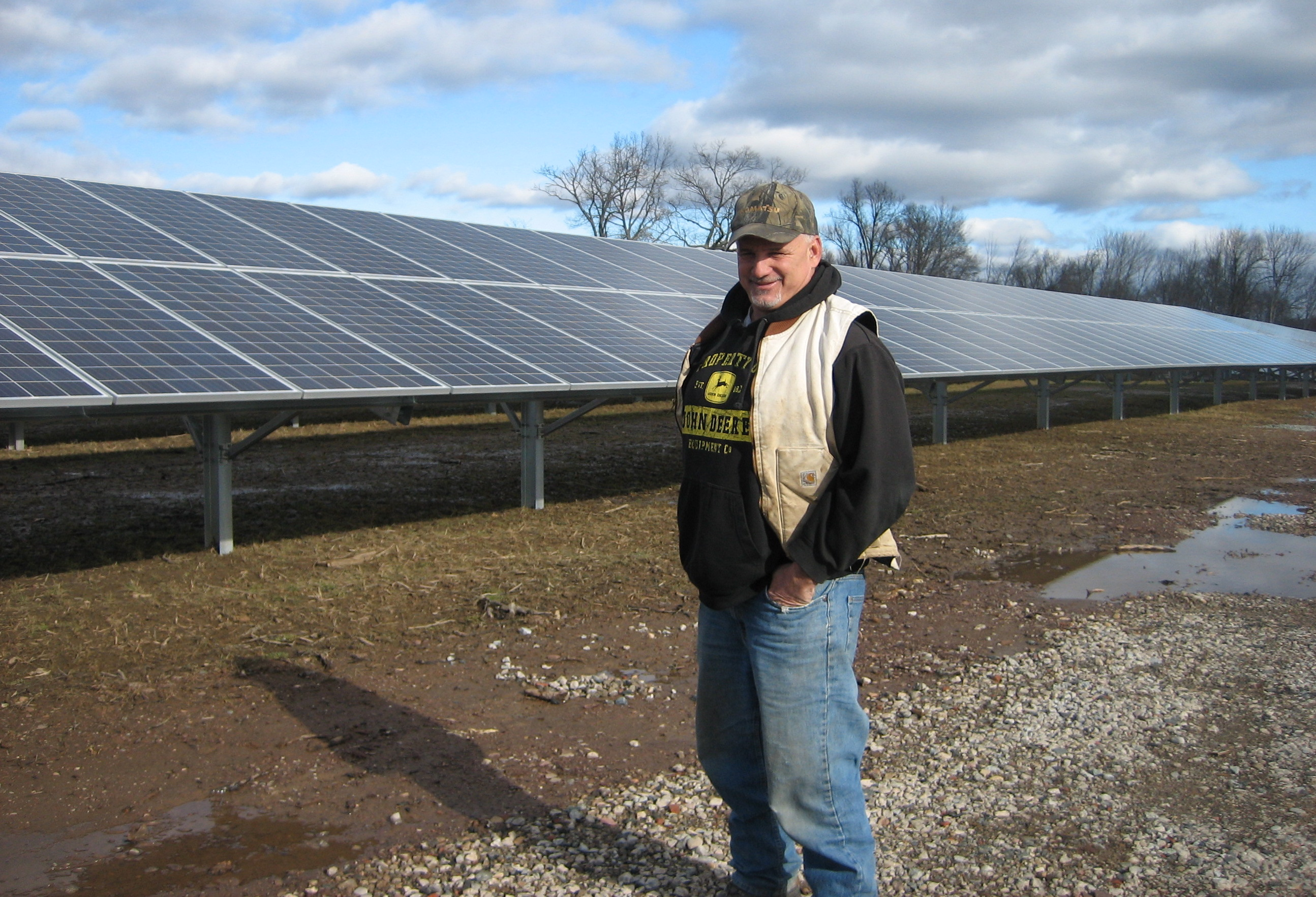 New farmland harvest – solar energy – creating political sparks