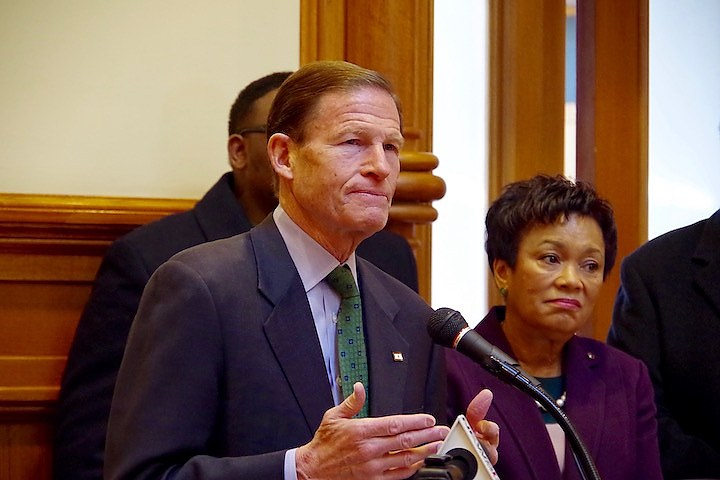 Blumenthal will oppose Trump reduction of anti-poverty money