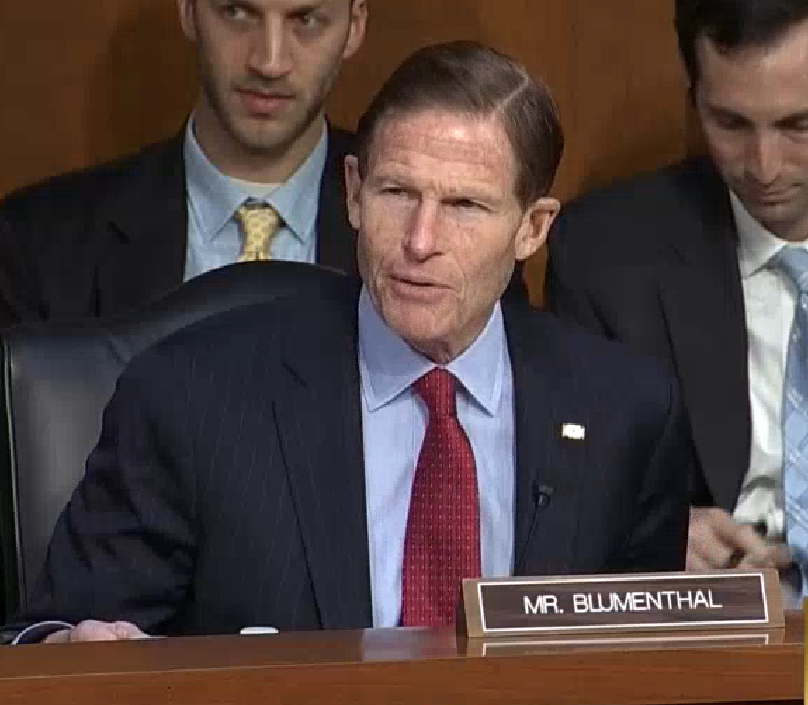 Blumenthal: 'Sparks will fly' at Kavanaugh hearing
