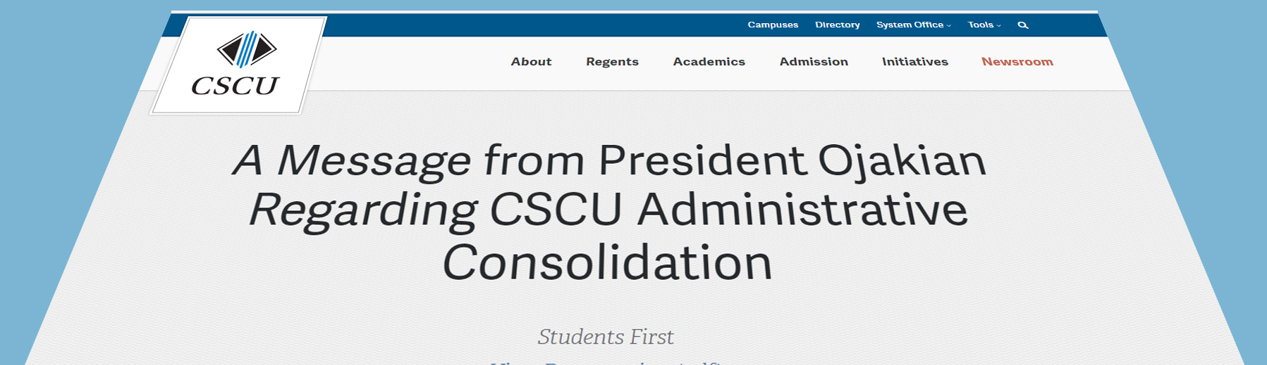 Neediest students first to be sacrificed in CSCU consolidation 'plan'