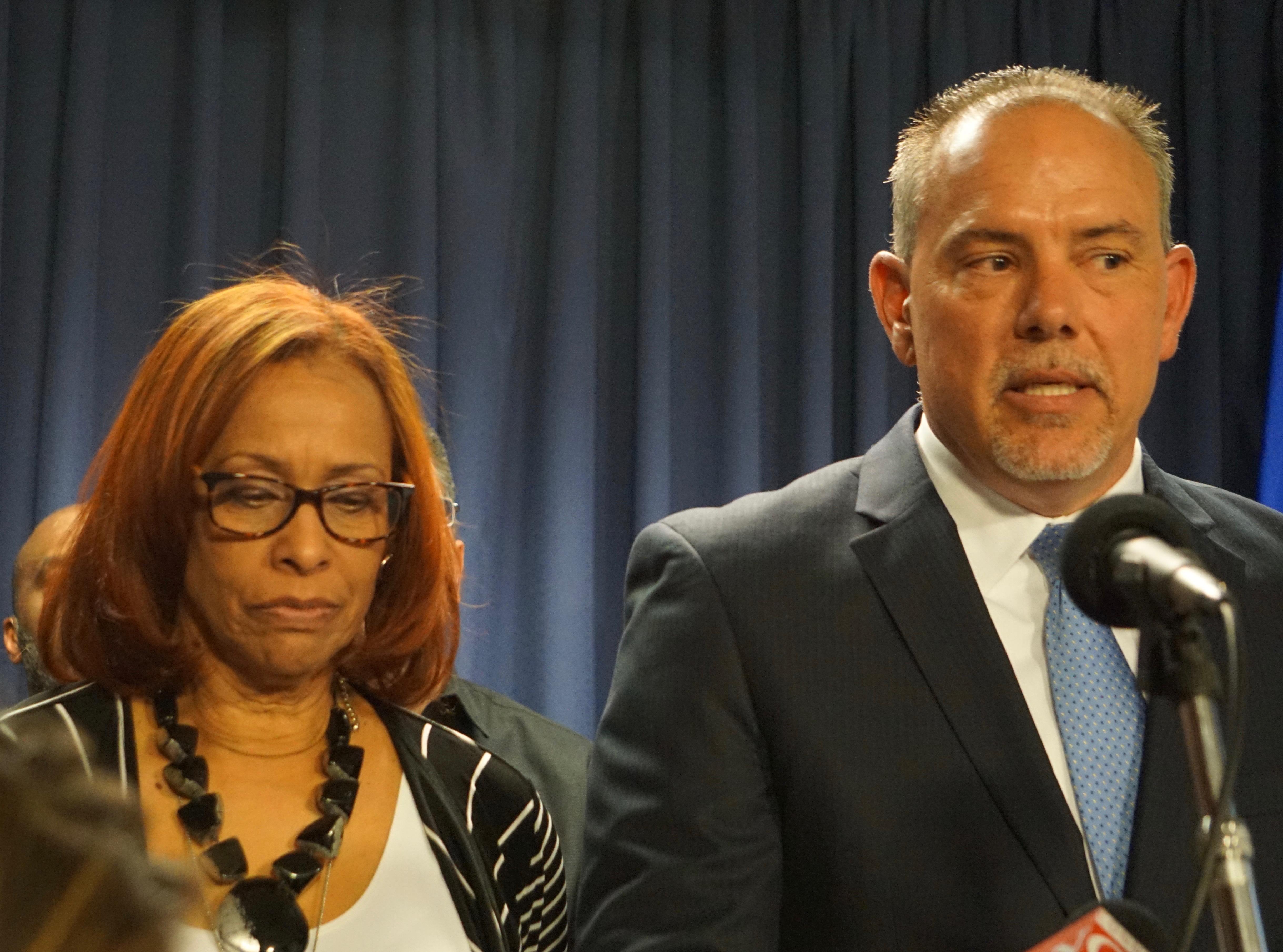 Democrats would slash municipal aid, allow casino, legalize pot