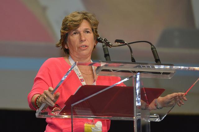 She'll 'educate' Betsy DeVos as AFT kicks off campaign