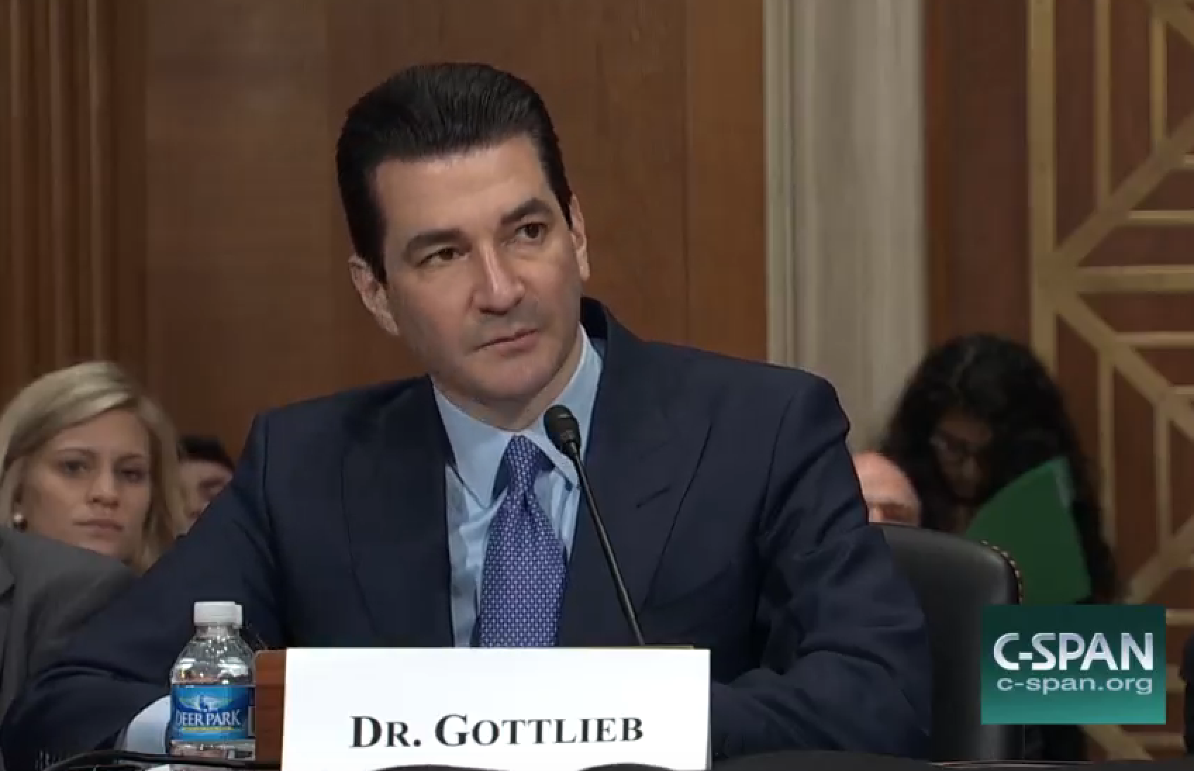 FDA nominee Gottlieb says he'd challenge Trump on vaccines