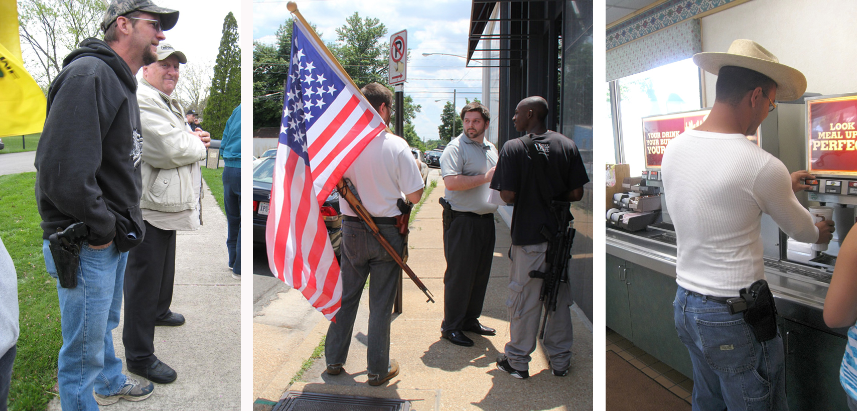 Asking to see 'open carry' permits makes everyone safer