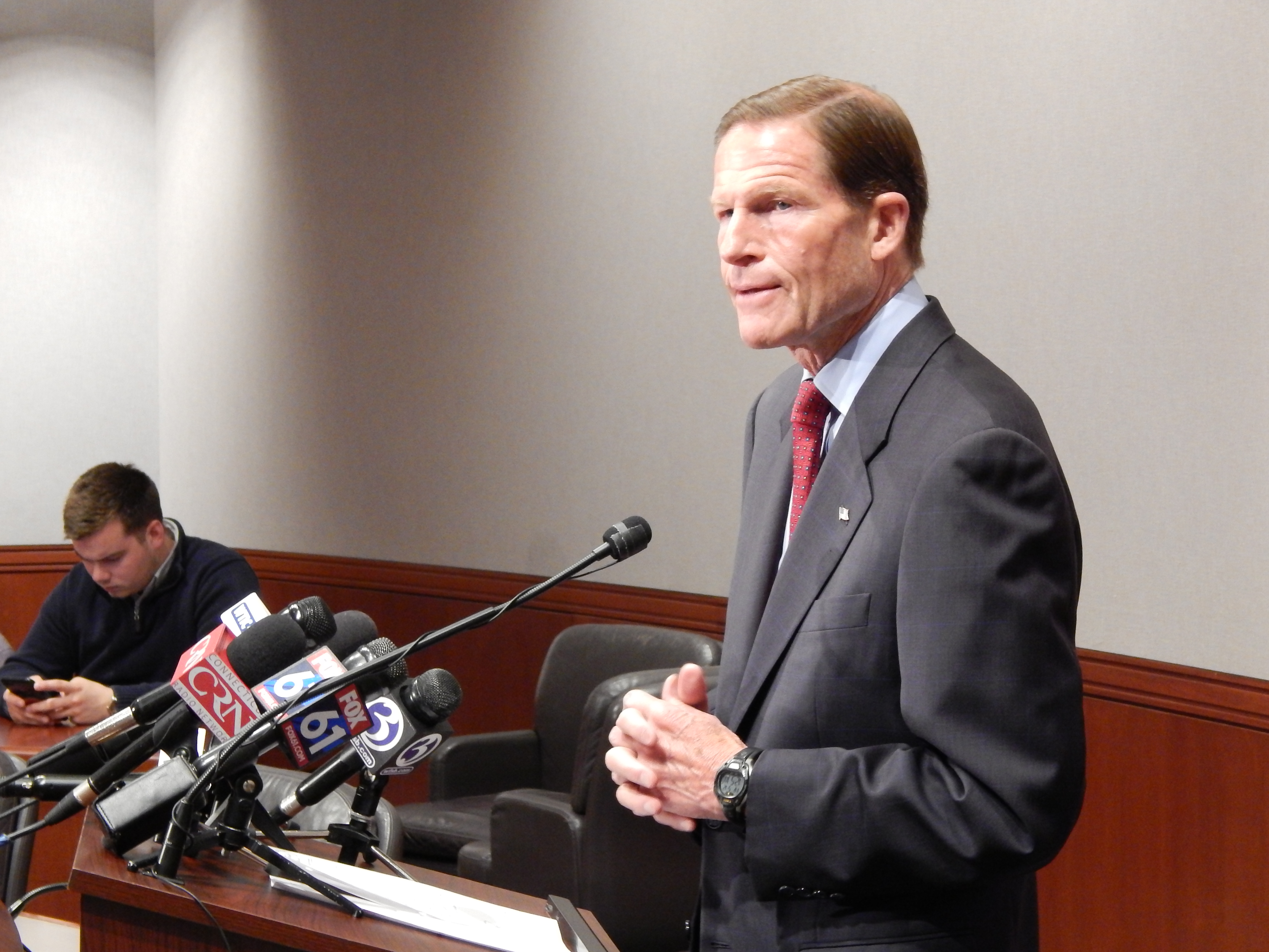 Blumenthal wants Trump-Comey tapes subpoenaed, if they exist