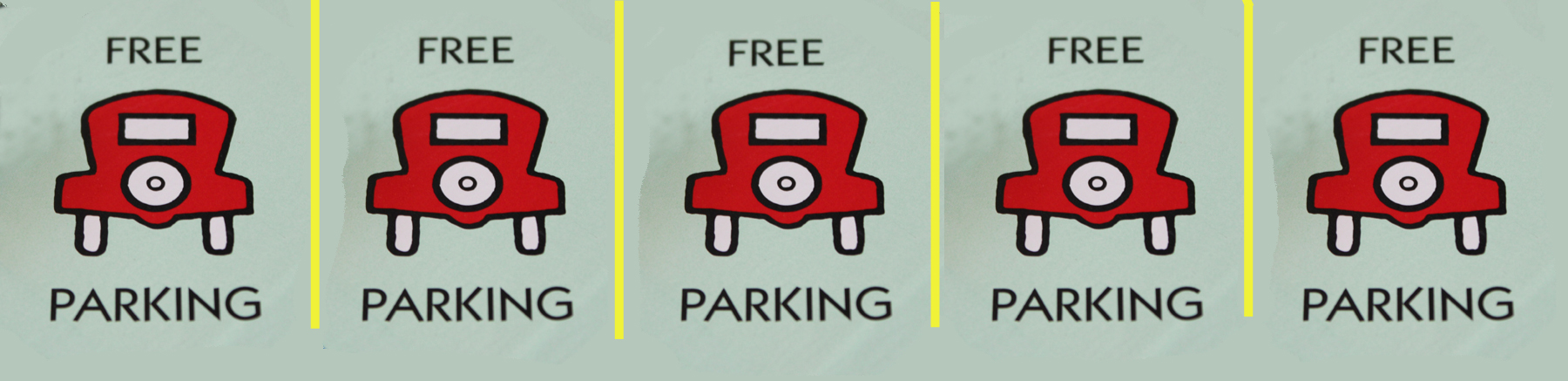 Free parking isn't really free