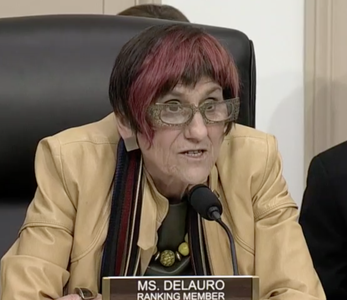 DeLauro fights political winds with book making case for social safety net