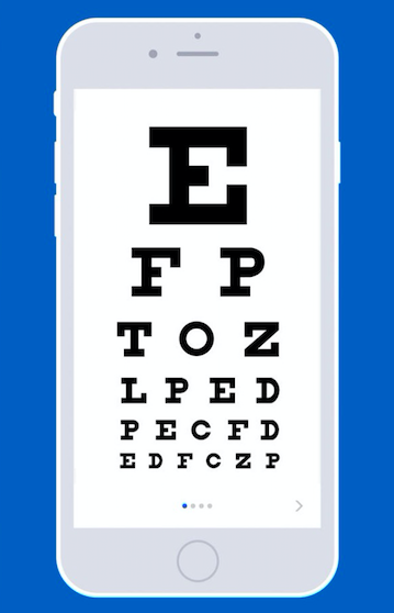 4186dd113d A smartphone app that inexpensively checks eyes and renews prescriptions  for contact lenses is cutting-edge