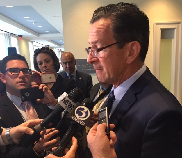 Malloy: Baseball field shooting 'reason why we need…saner gun laws'