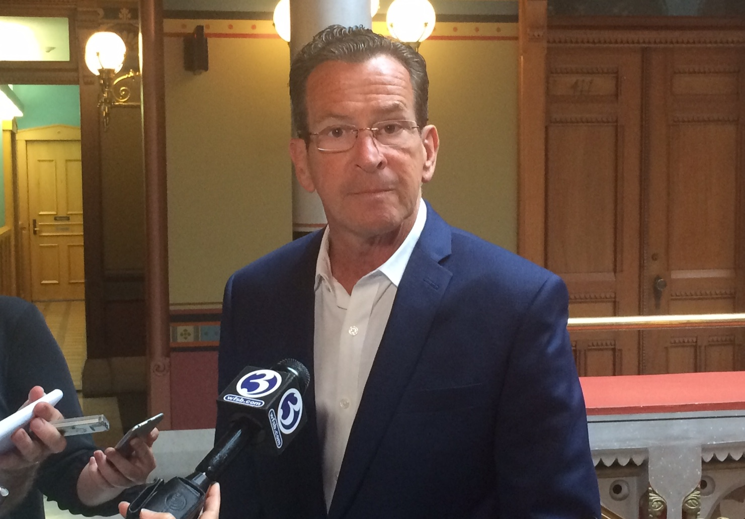 Malloy recognizes his budget proposal is $121M out of balance
