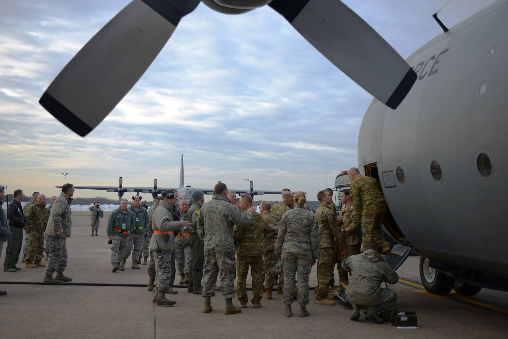 As Harvey pounds Texas, CT sends Air National Guard to help