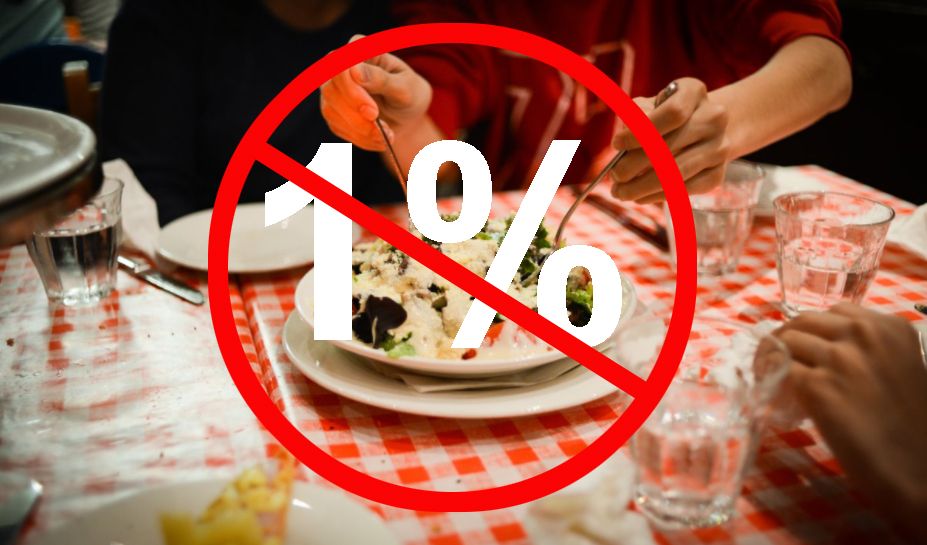 The 1 percent tax on restaurant meals is a bad idea