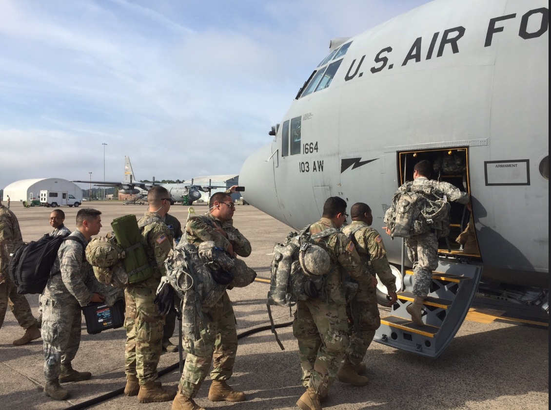 CT Guard joins Pentagon ramp up in Puerto Rico