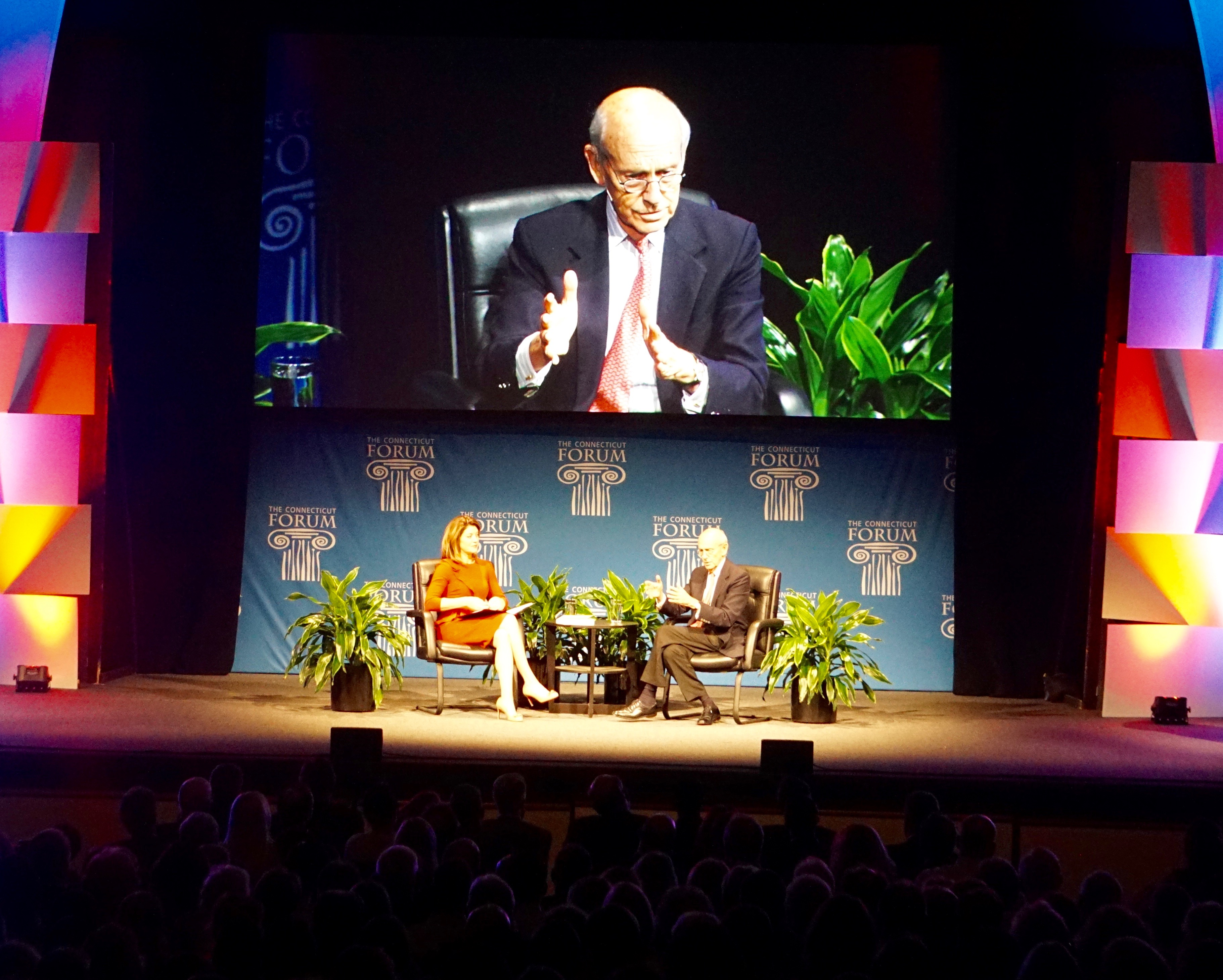 A careful conversation with Justice Stephen G. Breyer