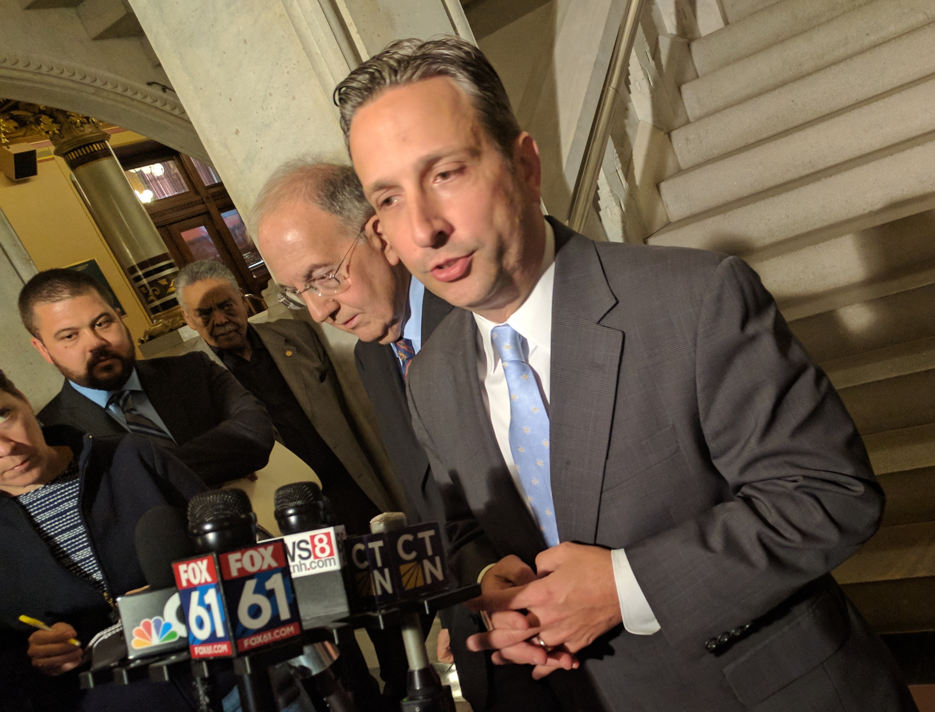 Car tax repeal hits a snag, tentative CT budget still unbalanced