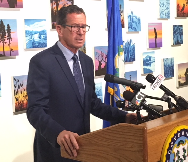 Malloy says many accept mass shootings rather than gun control