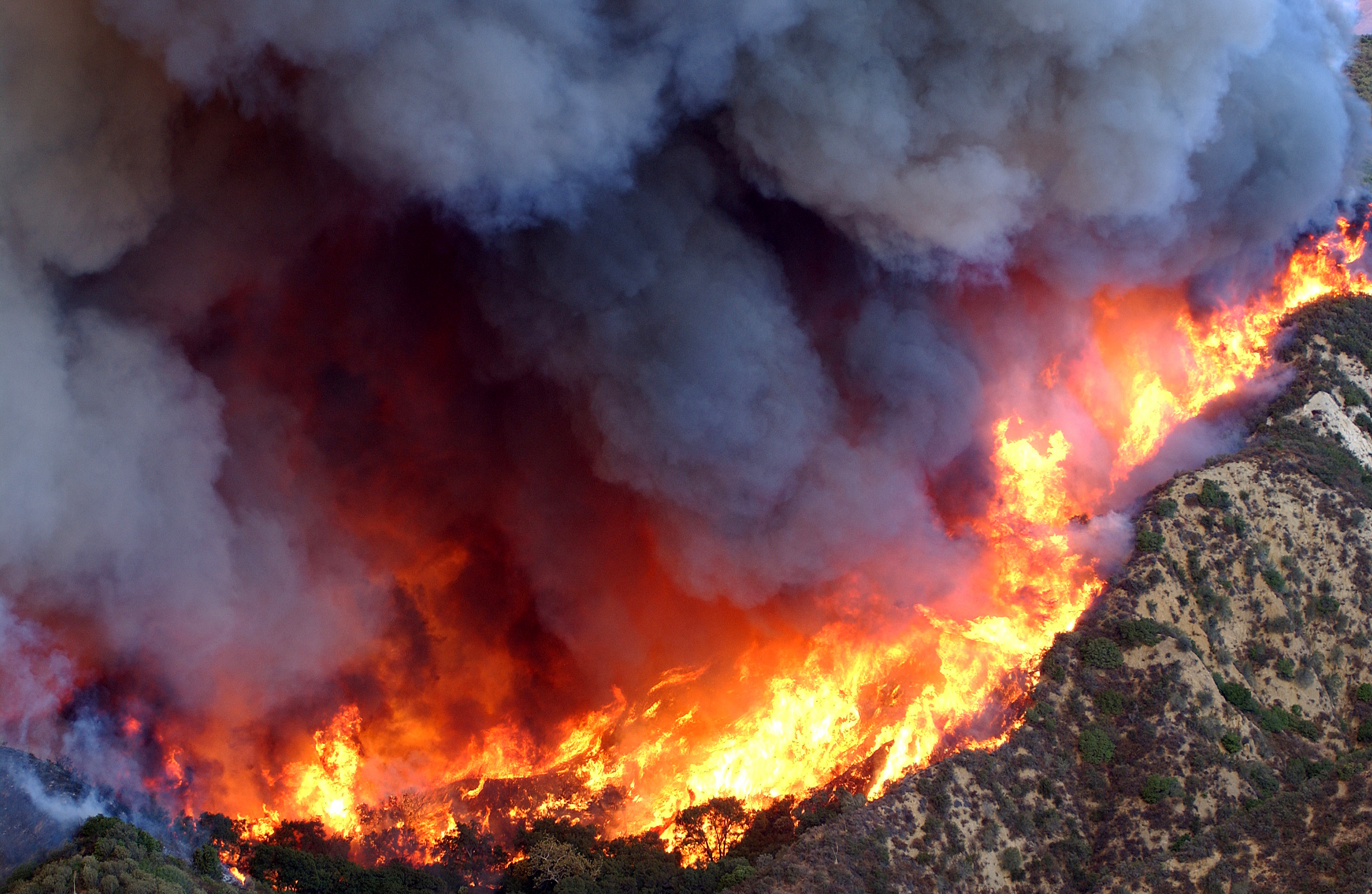 GOP fiddles with fossil fuels while Los Angeles burns