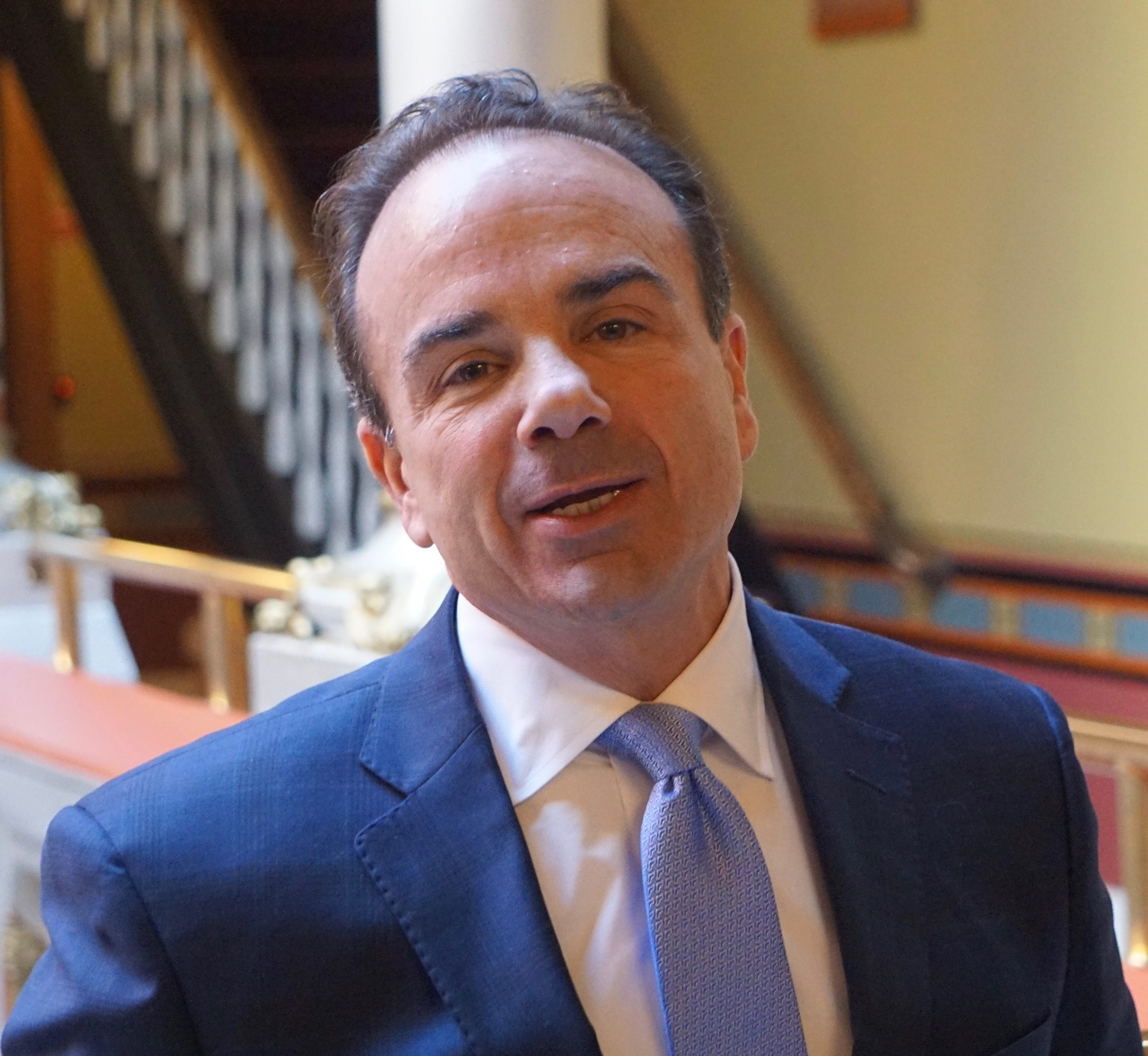 Eight years out of prison, Ganim says he's ready to be governor