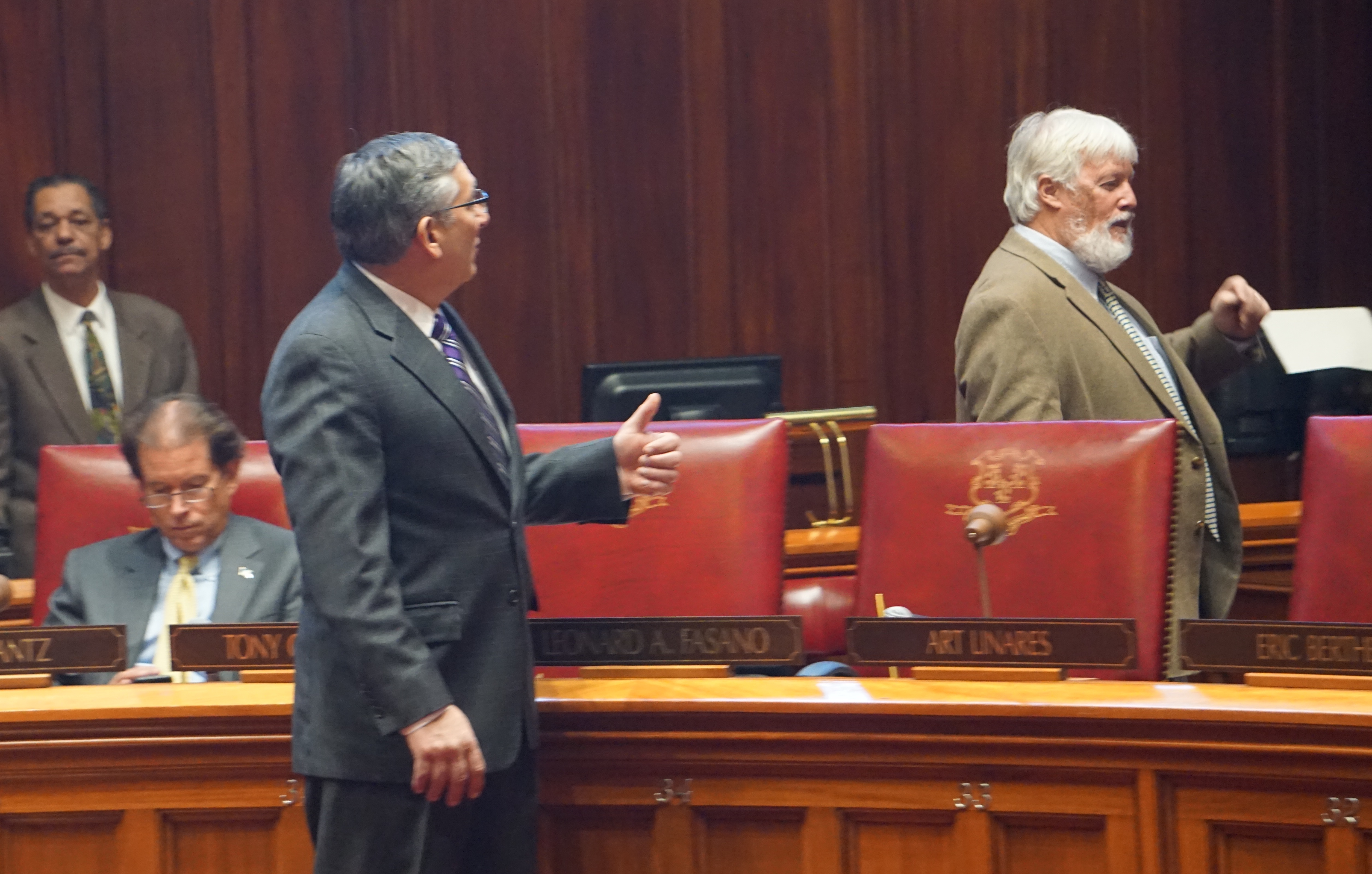 Legislature overrides Malloy veto, delaying a budget cut