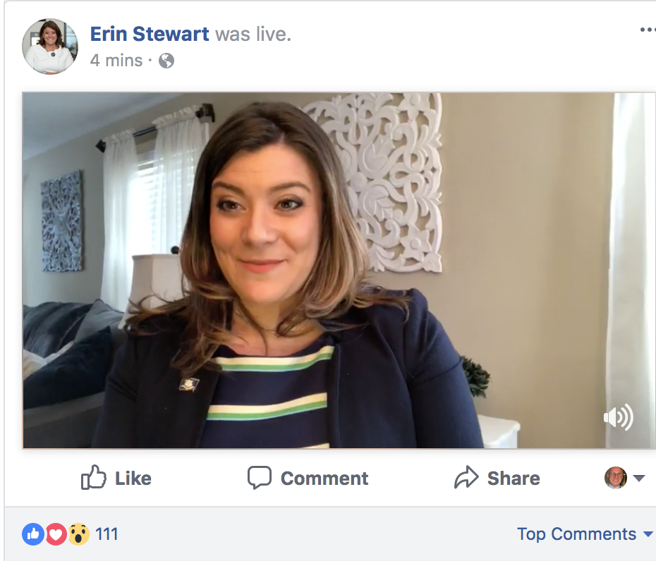 Erin Stewart explores run for governor in a crowded field