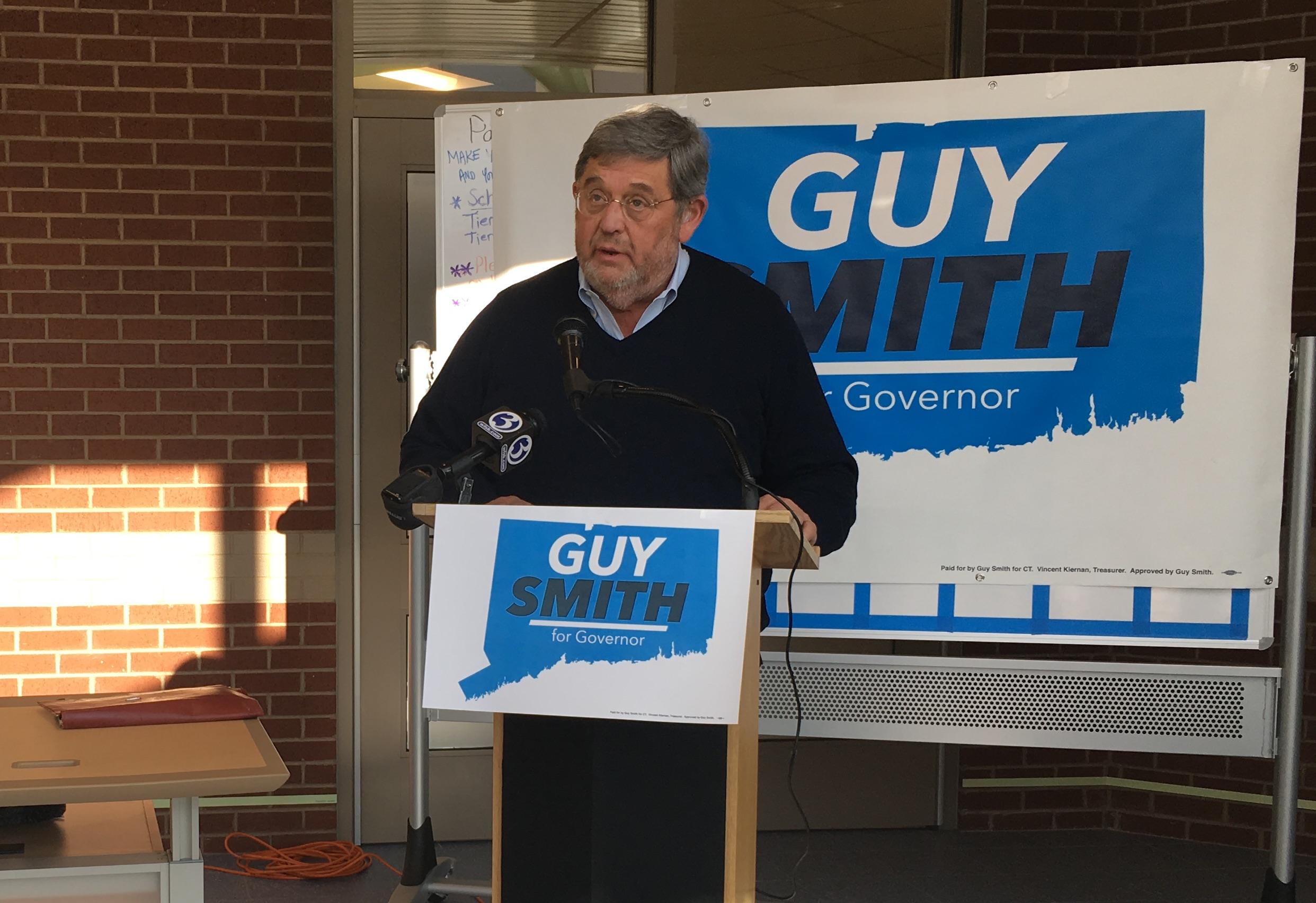 Guy Smith falls short, leaving a Lamont-Ganim primary