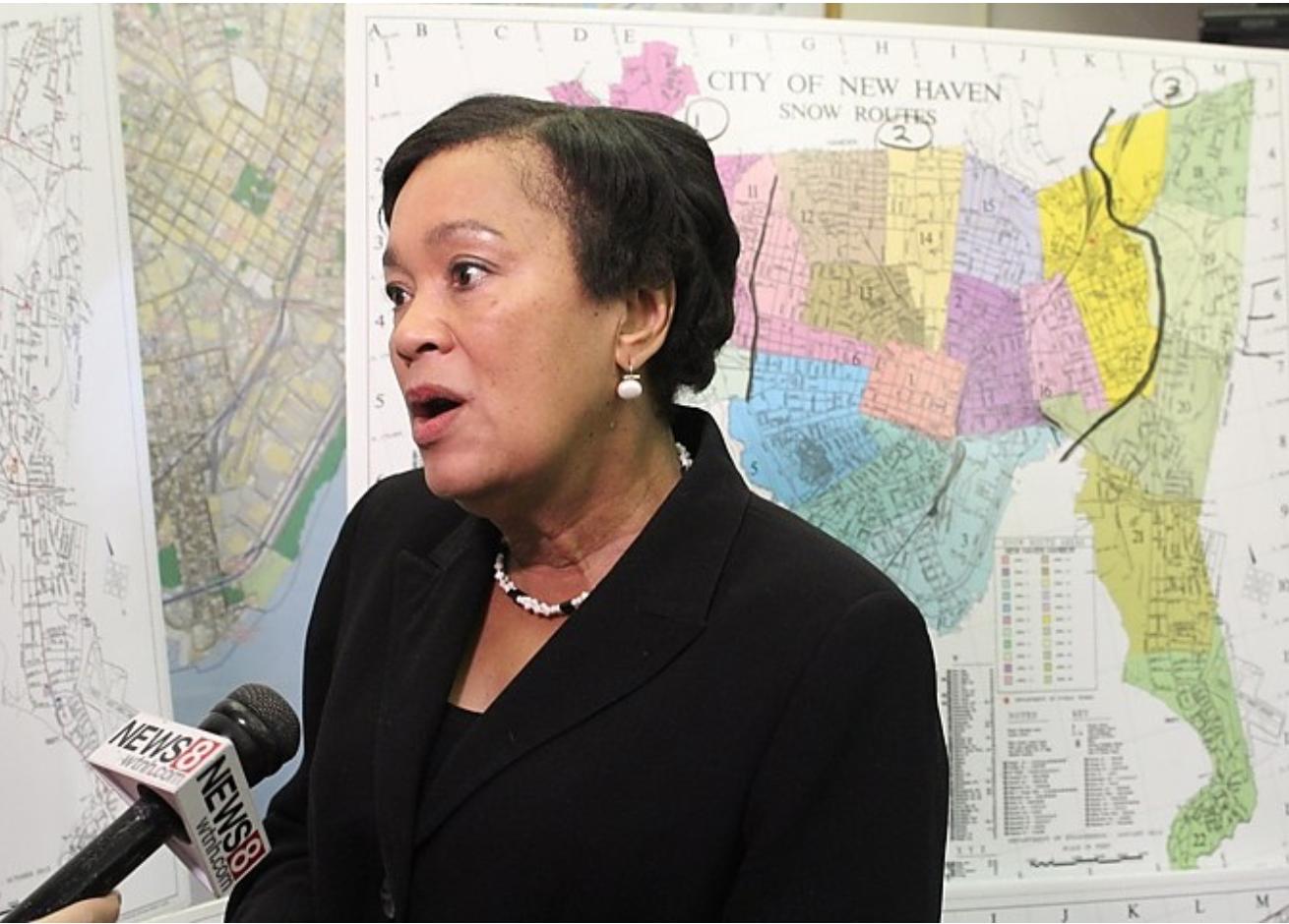 New Haven Mayor Toni Harp displeases Trump