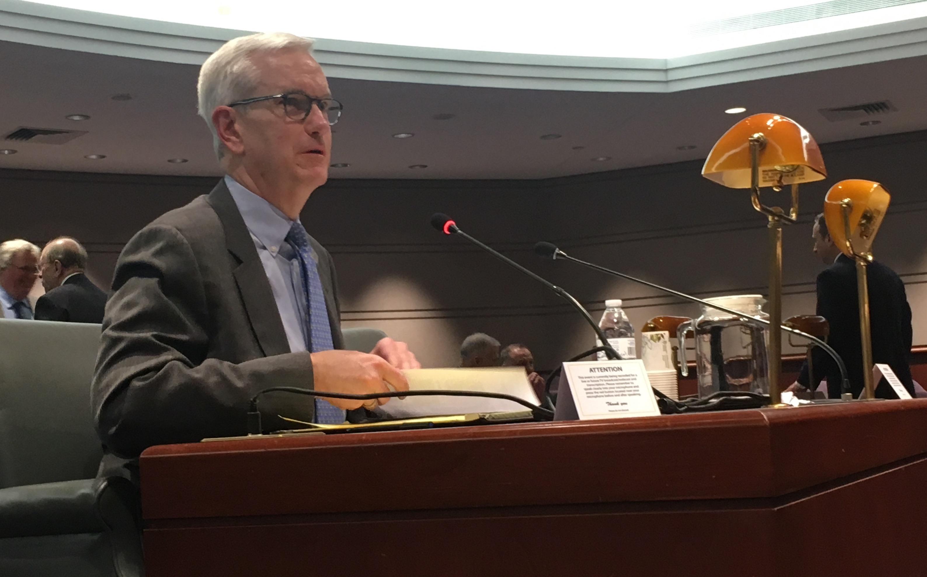 Tie vote sends McDonald nomination to legislature with unfavorable recommendation