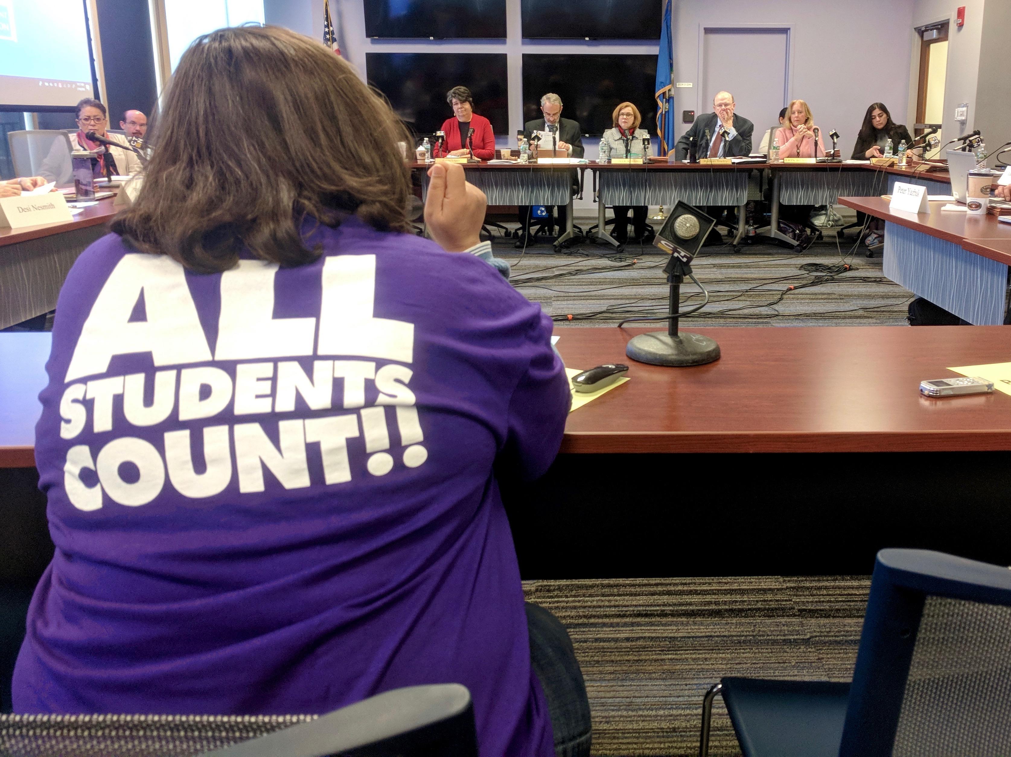 Board rejects legislature's budget for more charter school funding