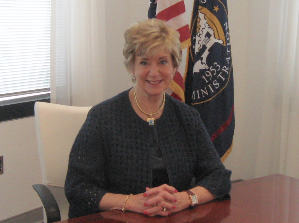 Linda McMahon in Washington, re-imagining the SBA