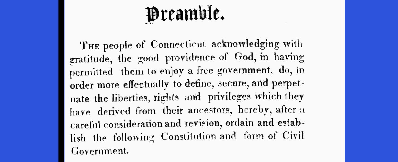 Connecticut's own 'Second Amendment'