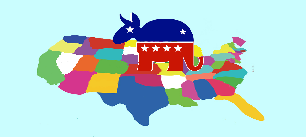 Republicans and Democrats must be Americans together