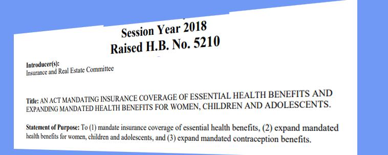 Insurance should provide women's preventative care, including contraception