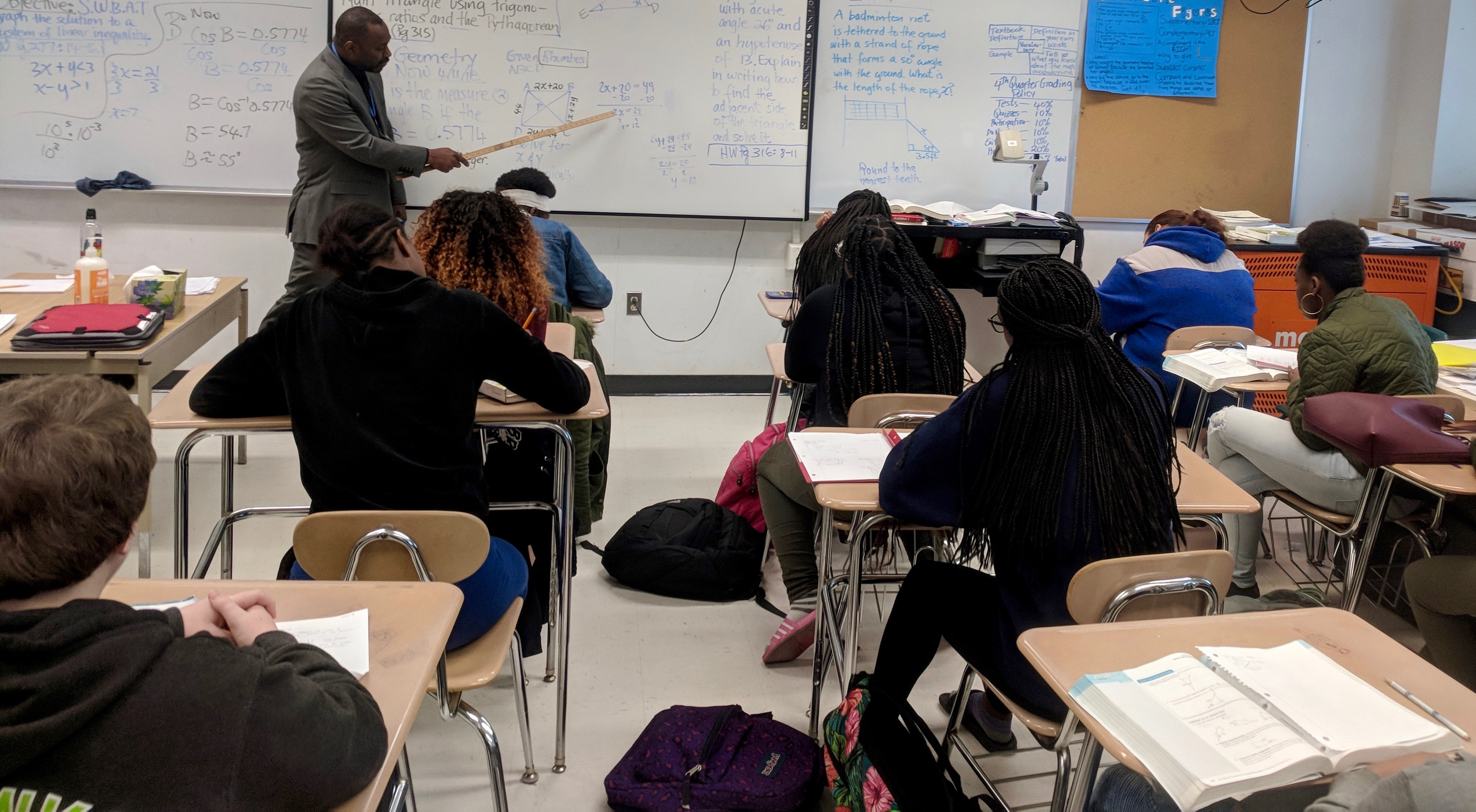 Increase in minority teachers not keeping pace with influx