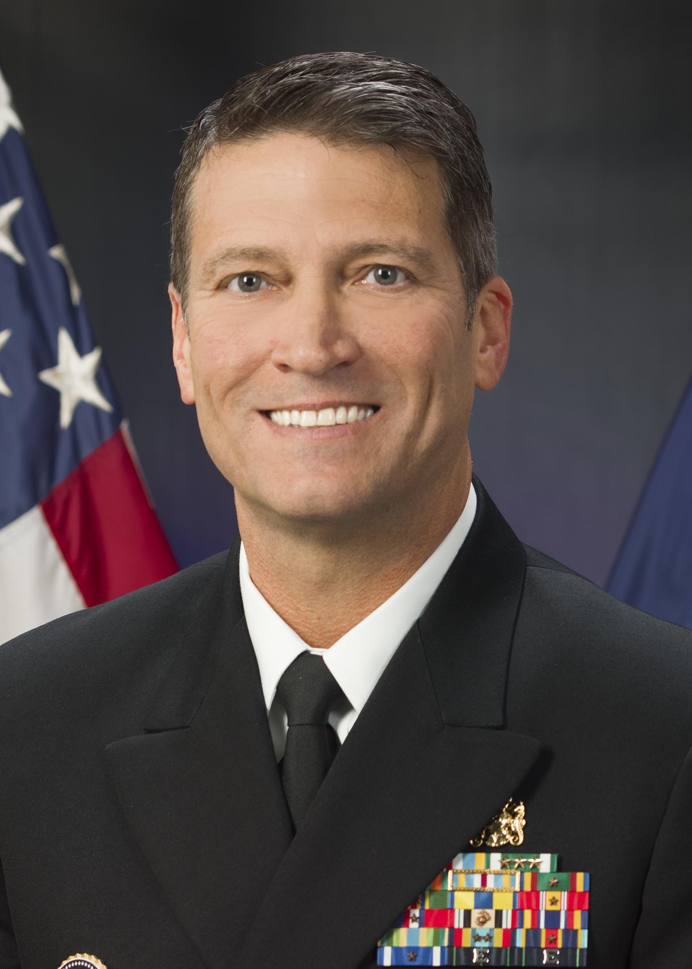 Jackson, White House doctor and Groton sub base grad, withdraws as VA nominee