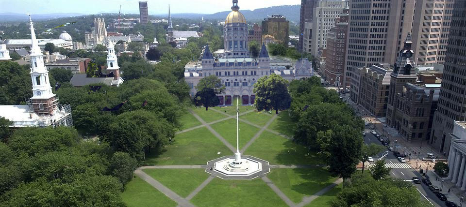 Let's move the Capitol back to New Haven