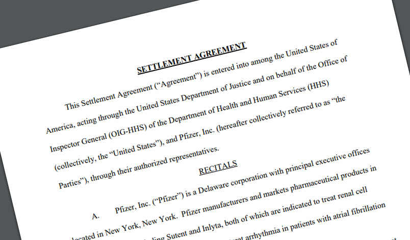 For $24M, Pfizer settles kickback case related to copay assistance