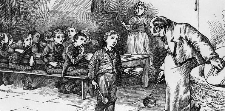 Breaking up families? America looks like a Dickens novel