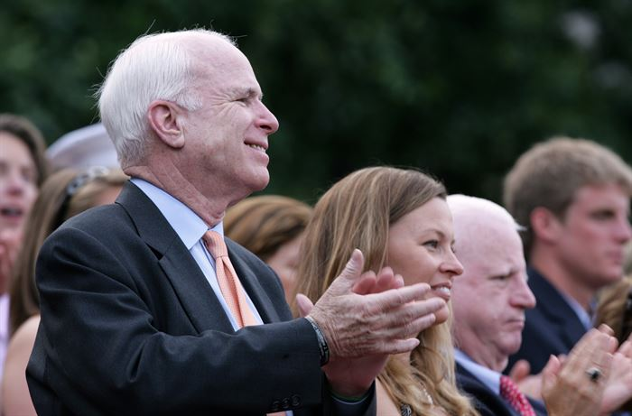Why Connecticut Dems love John McCain