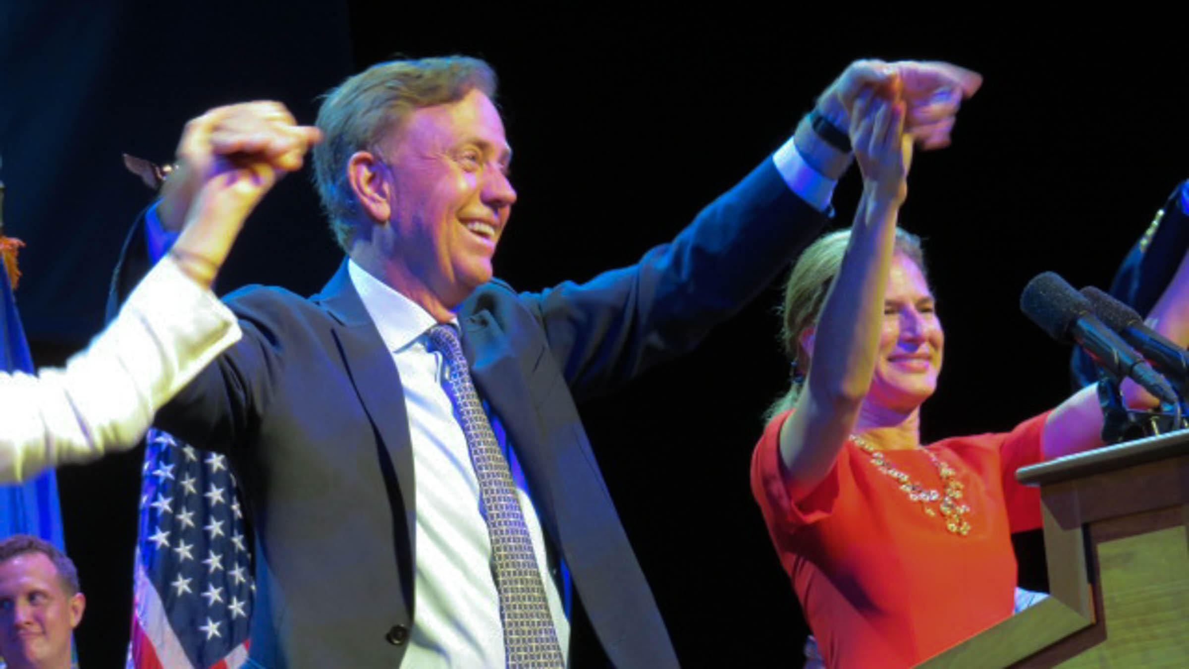 Lamont defeats Ganim in landslide