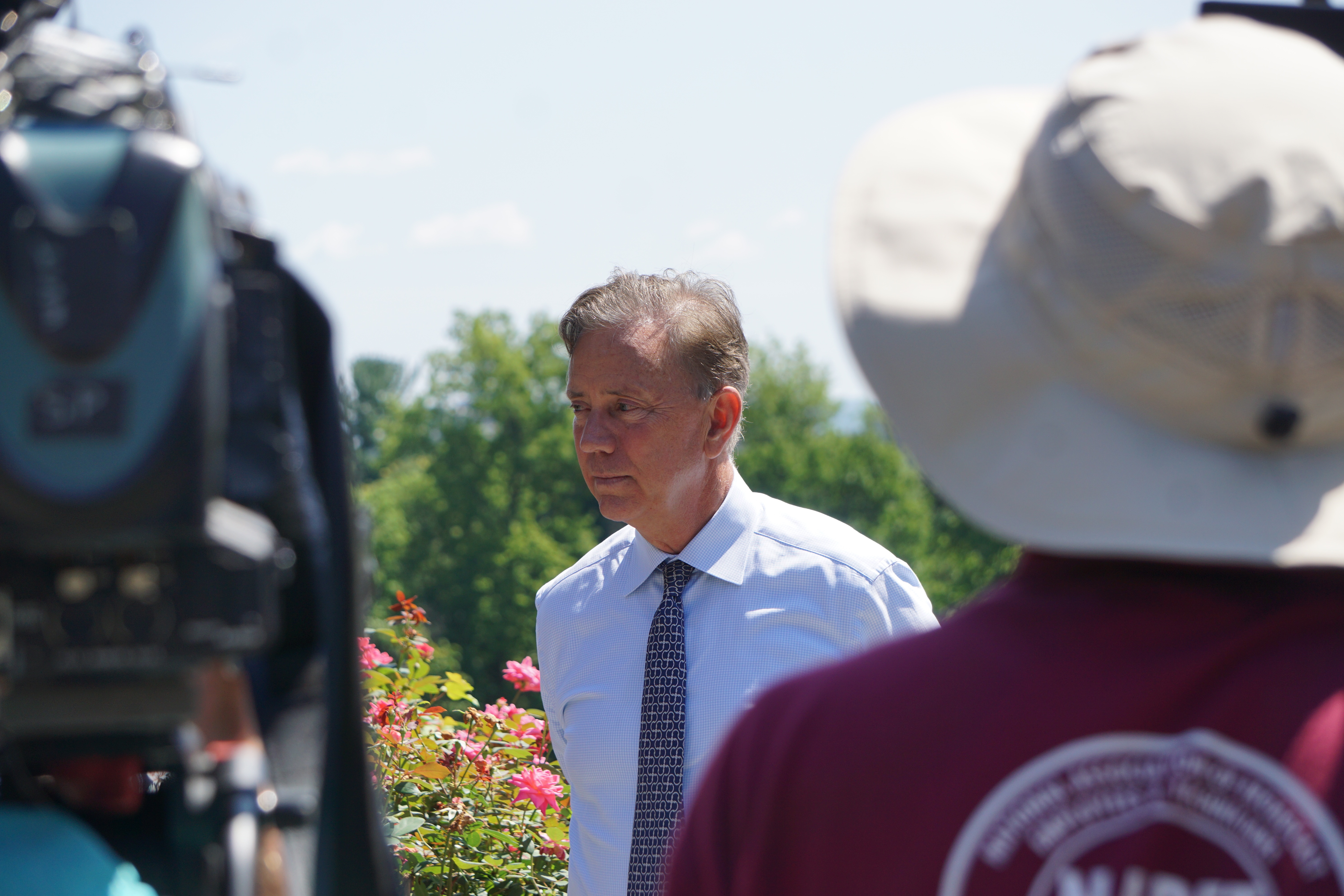Lamont: Property-tax relief possible, not income-tax repeal