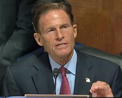 As Trump faces heat, he lashes out at Blumenthal